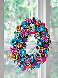 Jewel-tone Wreath
