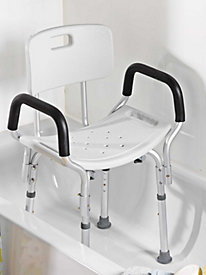 First Class Bath Chair with Back
