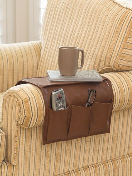 Sofa/Armchair Organizer - Chair Caddy - Couch Pocket ...