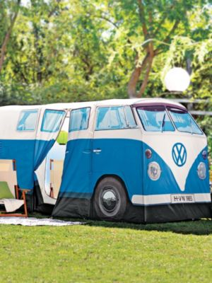 & Volkswagen Van Camper Tent looks just like a VW bus | Solutions