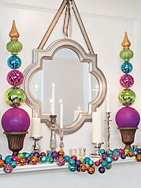 Jewel-tone Garland