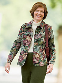 Rose Garden Tapestry Jacket