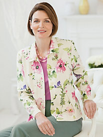 Botanical Print Jacket