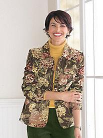Hydrangea Tapestry Jacket