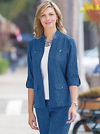 Textured Comfort Jacket