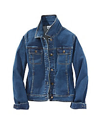 Denim Jean Jacket with Stretch