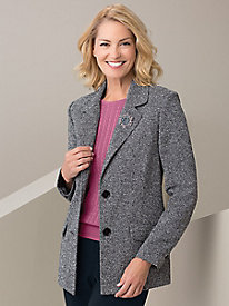 Seasonless Tweed Jacket