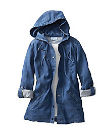 Tencel Cotton Hooded Jacket