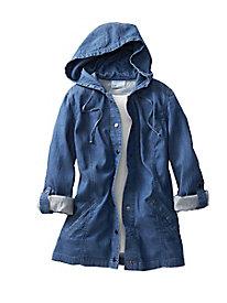 Tencel Cotton Hooded Jacket