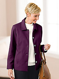 Relaxed Wool-Luxe Jacket by Koret®