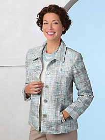Tweed Wardrobe Jacket by Koret®