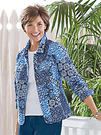 Indigo Patch Jacket by Koret