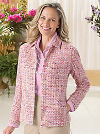 Tweed Wardrobe Jacket by Koret