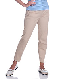 Slim Leg Stretch Twill Pant by Leon Levin&#174