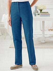 Comfort Waist Slim Leg Jean