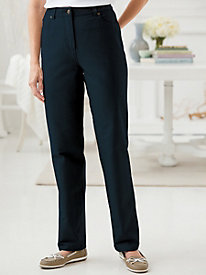 Comfort Waist Colored Slim Leg Jean