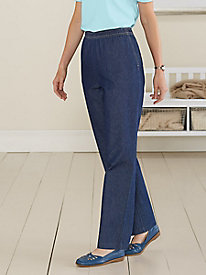 Everyday Denim Pull-On Pant
