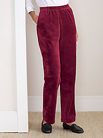 Ribbed Velour Pant