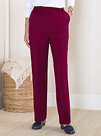 Easy-Care Wool-Luxe Pants by Koret