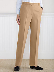Koret Wool-Luxe Perfect Fit Fly-Front Pant by Tog Shop