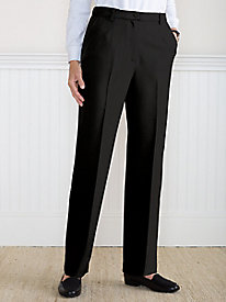 Koret Wool-Luxe Perfect Fit Fly-Front Pant
