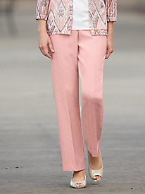 Poly Shantung Pants by Alfred Dunner