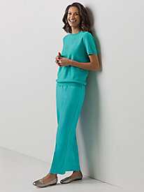 Gabardine Pull-On Pant by Alfred Dunner�