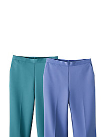 Lake Meade Pull-On Pants by Alfred Dunner®