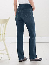 Peri Straight-Leg Jeans by JAG�