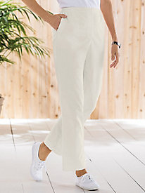 Catalina Bay Poplin Pull-On Pants