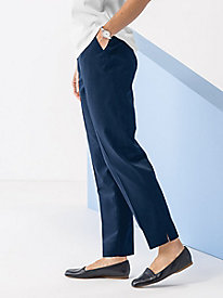 Twill Ankle Pant by Koret