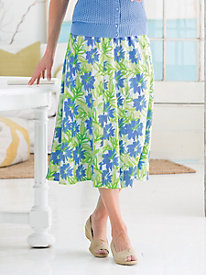 Summer Garden Crinkle Skirt