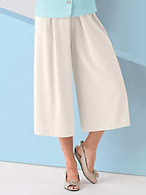 Koret Look-of-Linen Split Skirt