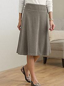 Corded Velour Skirt @...