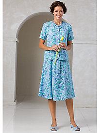 Emily Pastel Petals Skirt