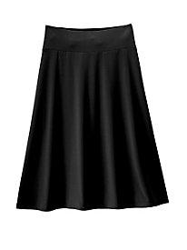 Koret® Solid or Print Knit Skirt