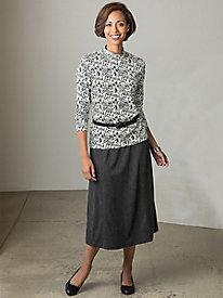 Suprema Knit Boot Skirt...