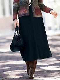 Suedecloth Boot Skirt