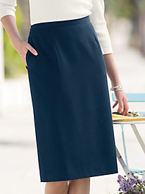 Bi-Stretch Slim Skirt