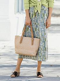 Batik Block Crinkle Skirt