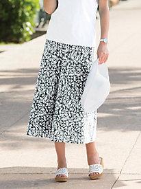 Coral Reef Crinkle Skirt