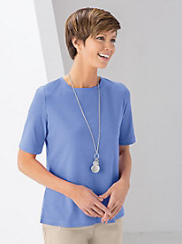 Perfect Coverage Elbow-Sleeve Tee