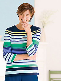 Striped Freeport Tee