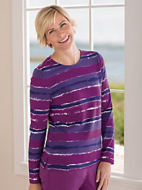 Koret Painterly Stripe Tee