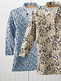 3/4 Sleeve Print Polos by Leon Levin