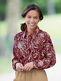 Autumn Paisley Shirt