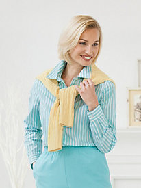 Easy Care Striped Shirt