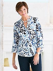 Textured Batik Shirt