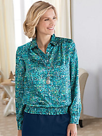 Stained-Glass Blouse by Koret®