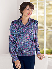 Stained-Glass Blouse by Koret�